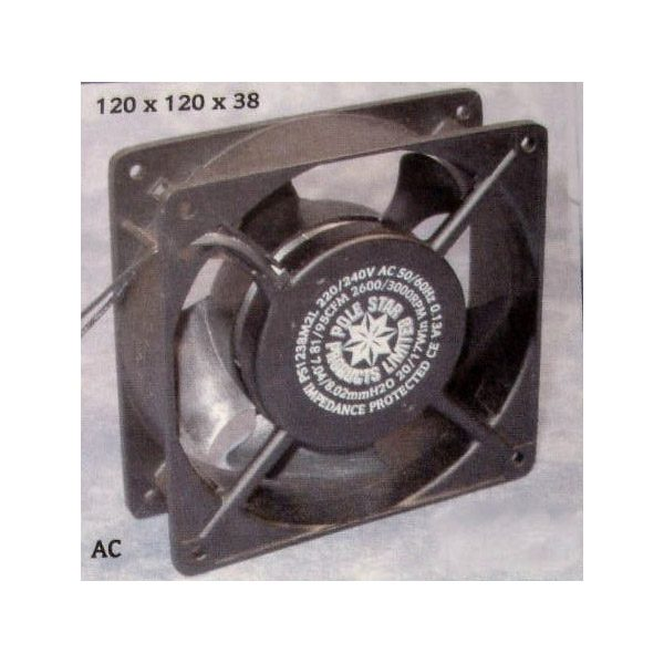 Axial Fan Motor 80x80x38mm 50657 Bdb Gb